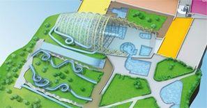 Plan parc aquatique VITAM
