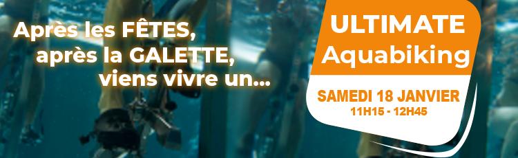 cours aquabiking 18 janvier 2020