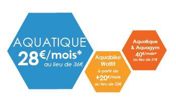 Abonnement Aquatique -20% Annecy