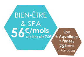 Abonnement Bien-être -20% Annecy Genève