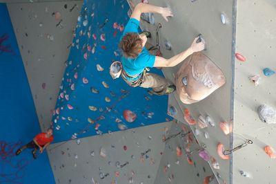 Individual climbing lessons Geneva