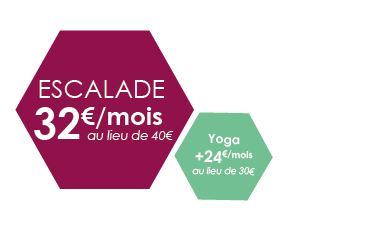 Abonnement escalade -20% Annecy Genève
