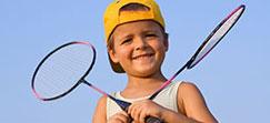 stage badminton  enfants et adultes vitam