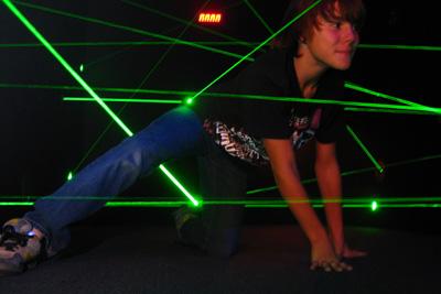 Laser labyrinth - Vitam