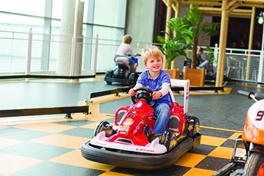 Mini Karting au Vitam