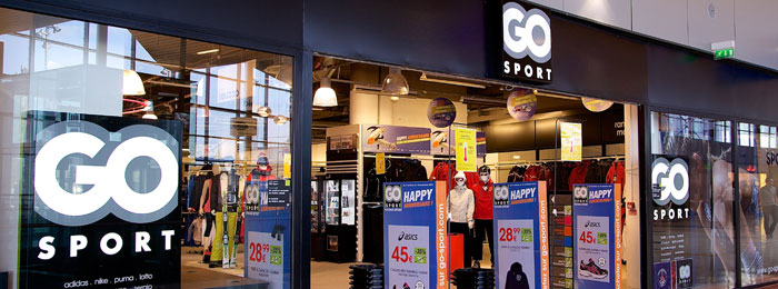 Boutique Go Sport au Vitam