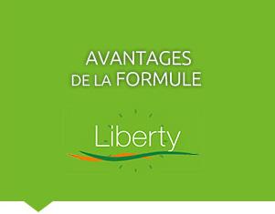 Avantages de la formule Liberty