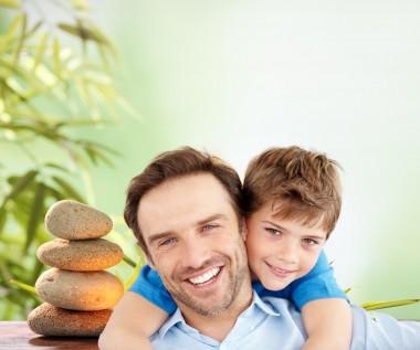 Papa et enfant