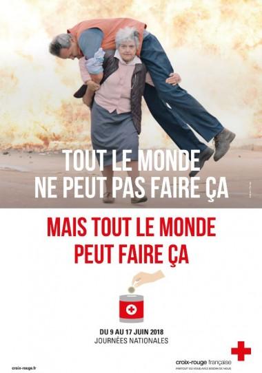 affiche croix  rouge