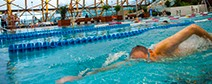 Group adult swimming lessons