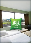 Twin room ibis Styles